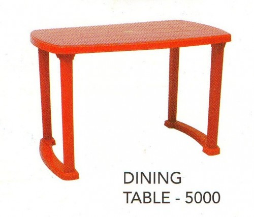 moulded table